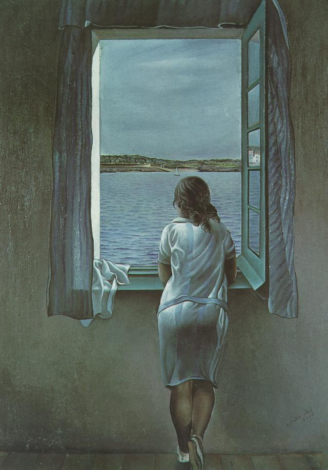 Figure at a Window, 1925