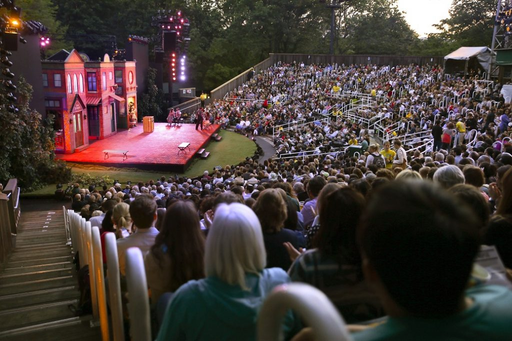 Shakespeare in the Park, The Central Park