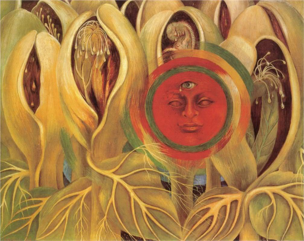 Sun and life - by Frida Kahlo