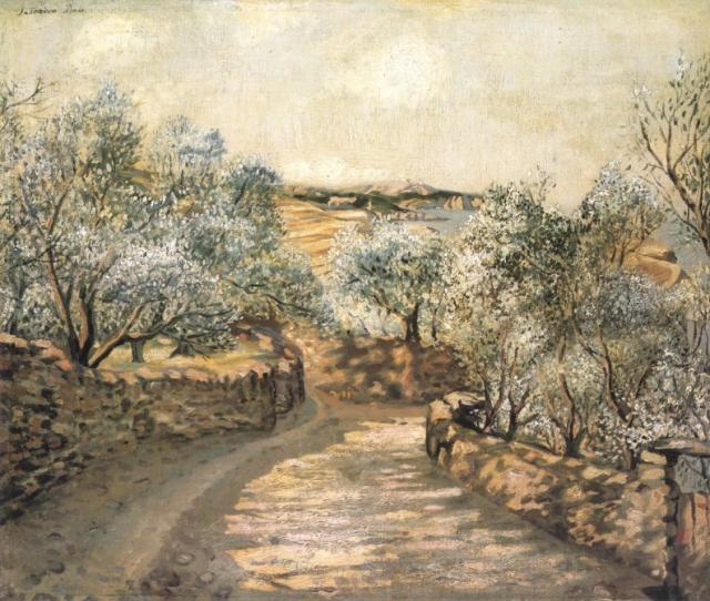 The Lane to Port Lligat with the View of Cape Creus, 1922-23