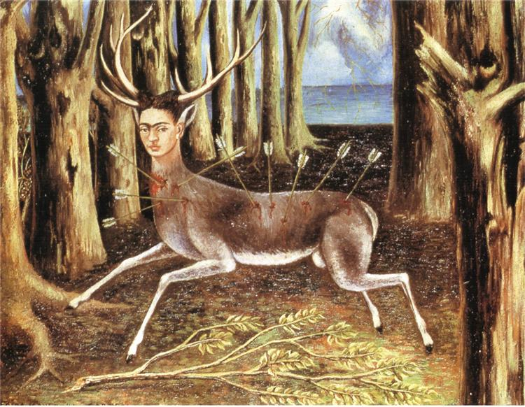 The Wounded Deer by frida