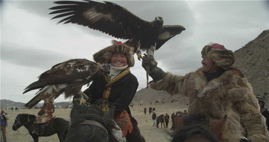 the eagle huntress film
