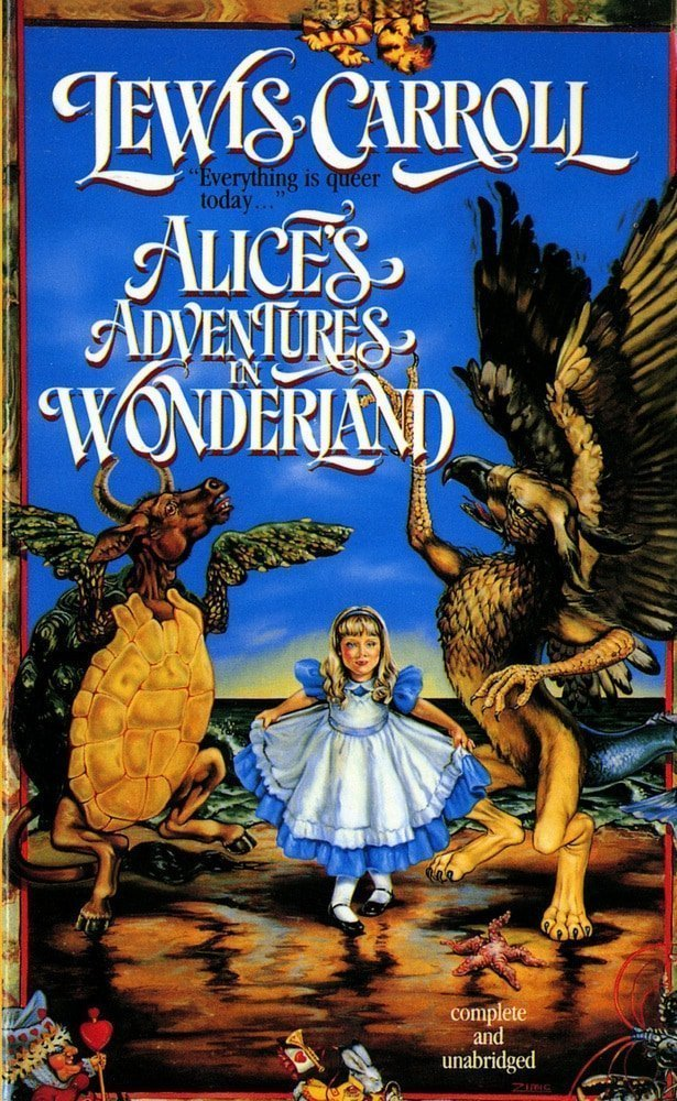 Alice in Wonderland by Lewis Carroll-best books of all the time