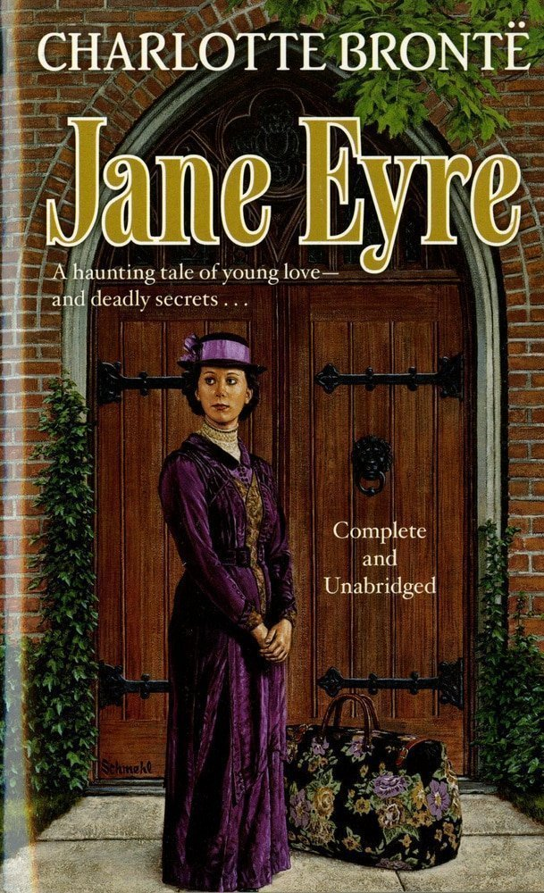 Jane Eyre by Charlotte Brontë-best books of all the time