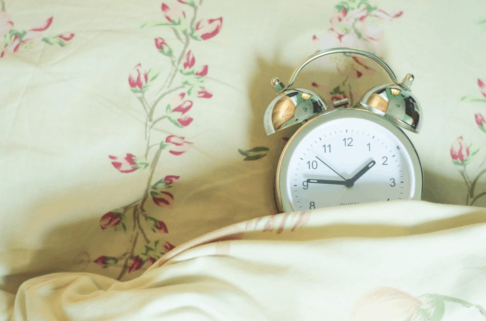 sleep on time- wake up strategies