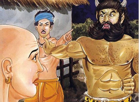THE THIEF, THE GIANT AND THE BRAHMIN- good moral stories