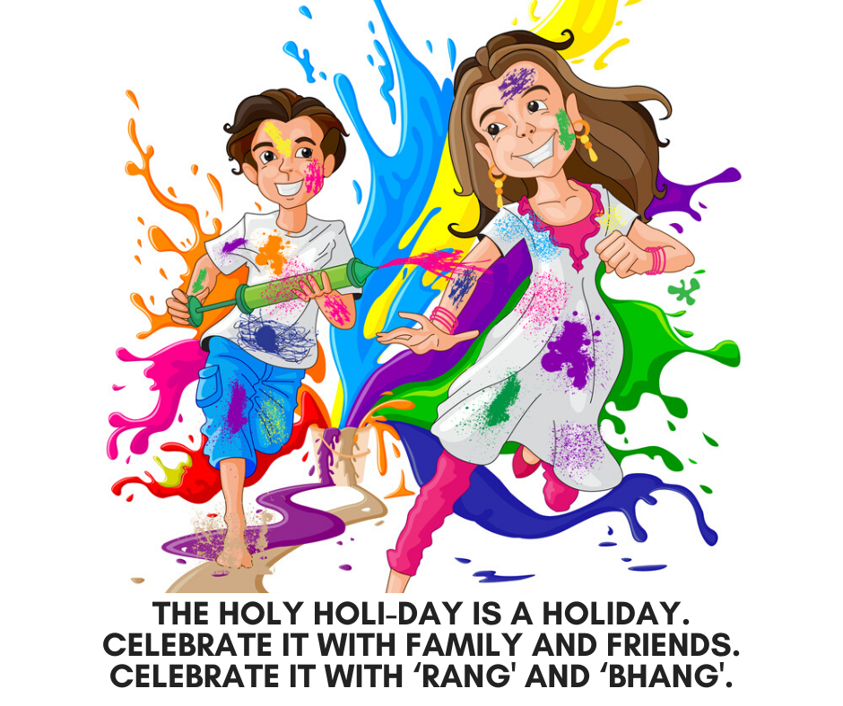 happy Holi wishing messages