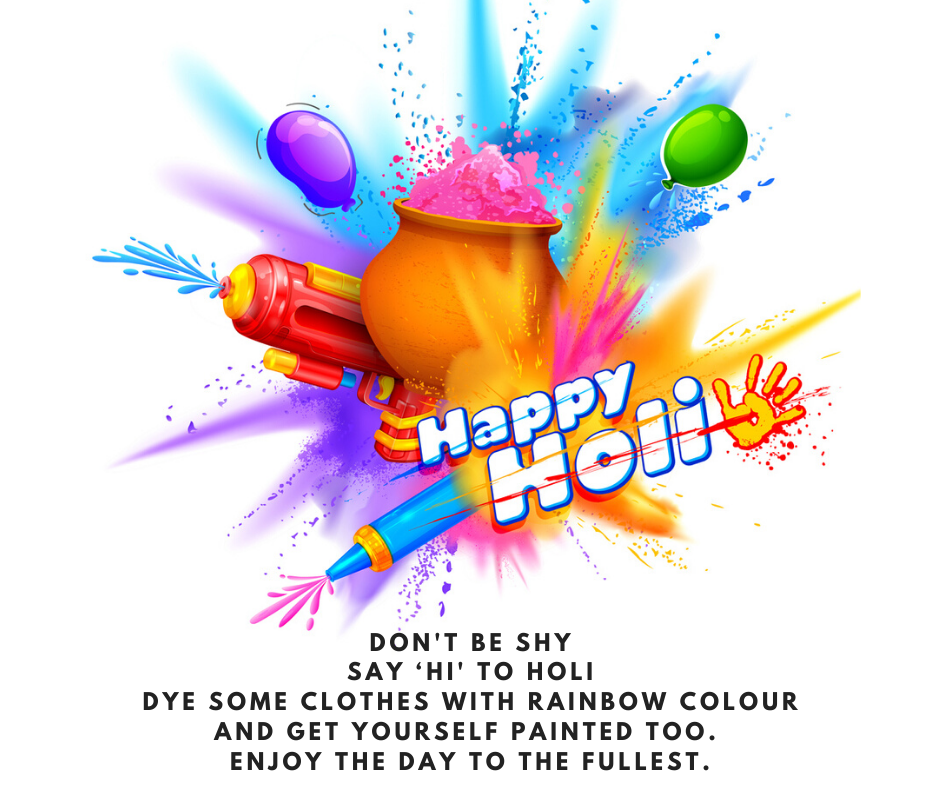 holi greetings image