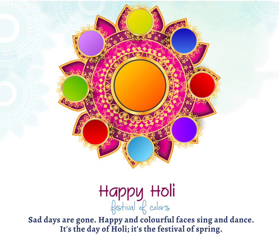 wishing Holi