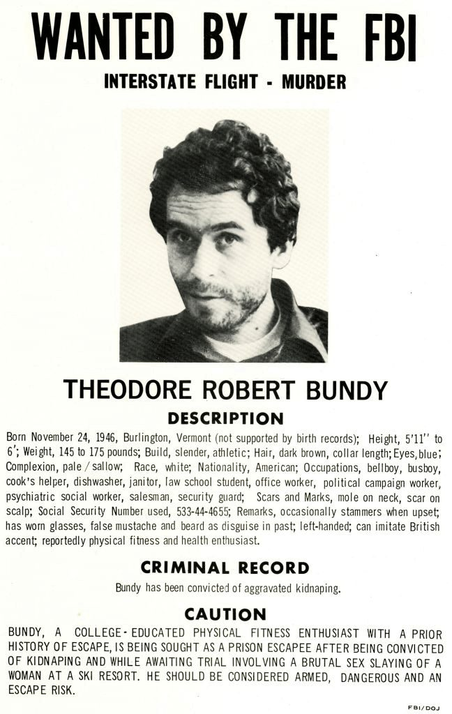 Ted Bundy Arrested