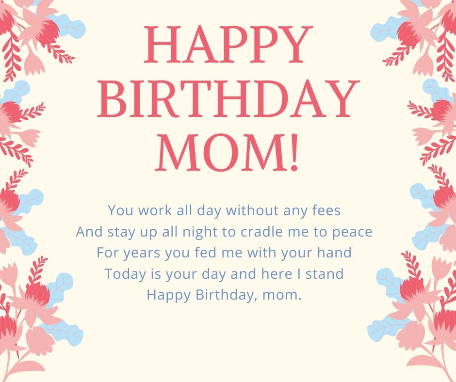 best happy birthday mom wishes