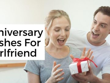 Anniversary Wishes For Girlfriend