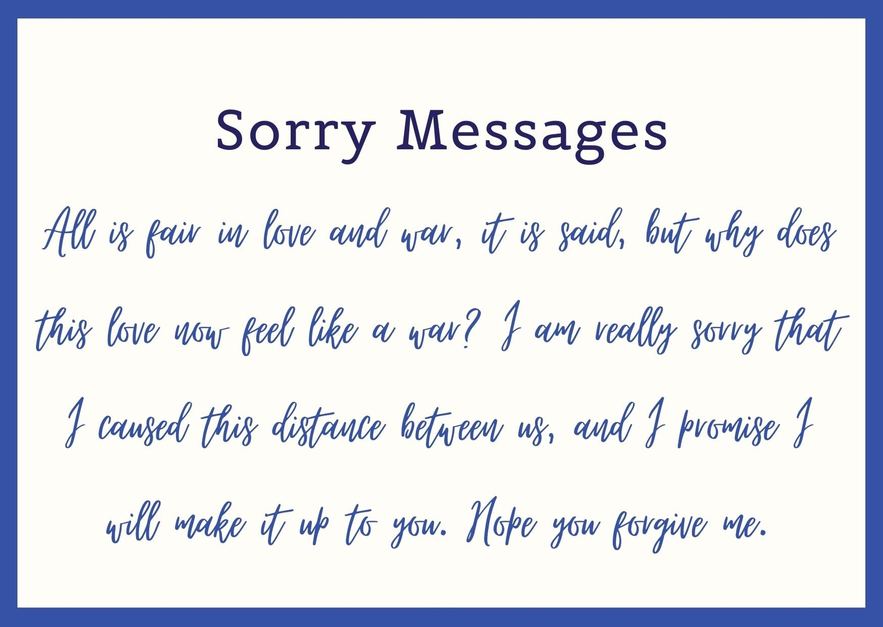 A apology words of friend to Apology Letter
