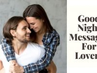 Good Night Messages For Lovers