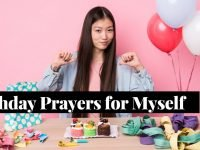 Birthday Prayers for Myself