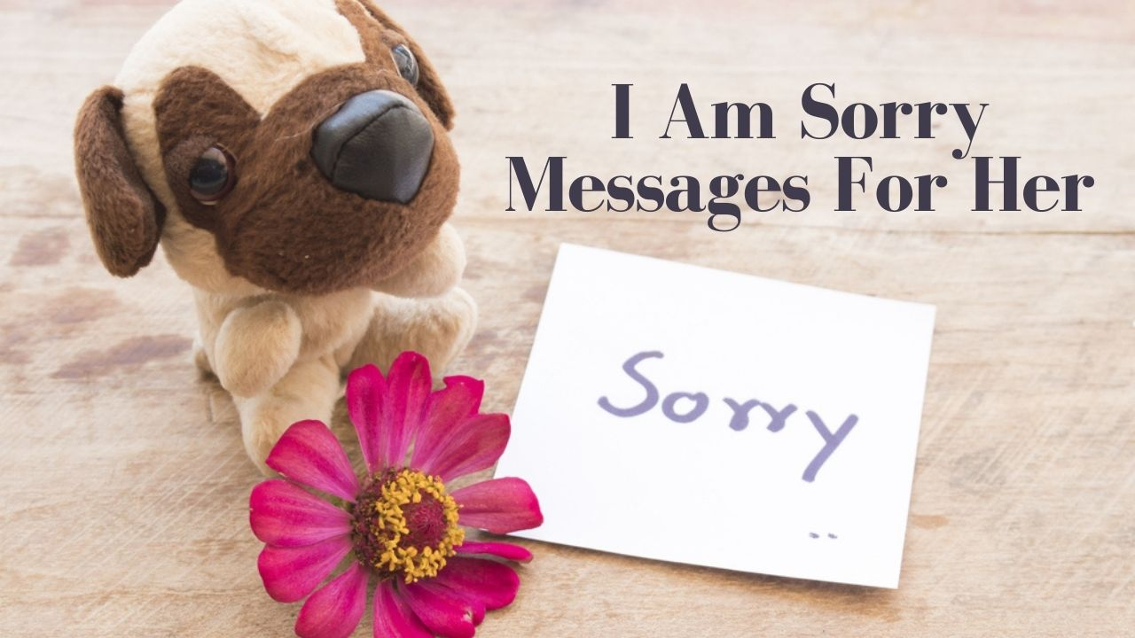 I Am Sorry Messages For Her