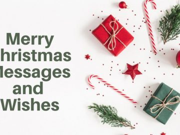 Merry Christmas Messages and Wishes 2020