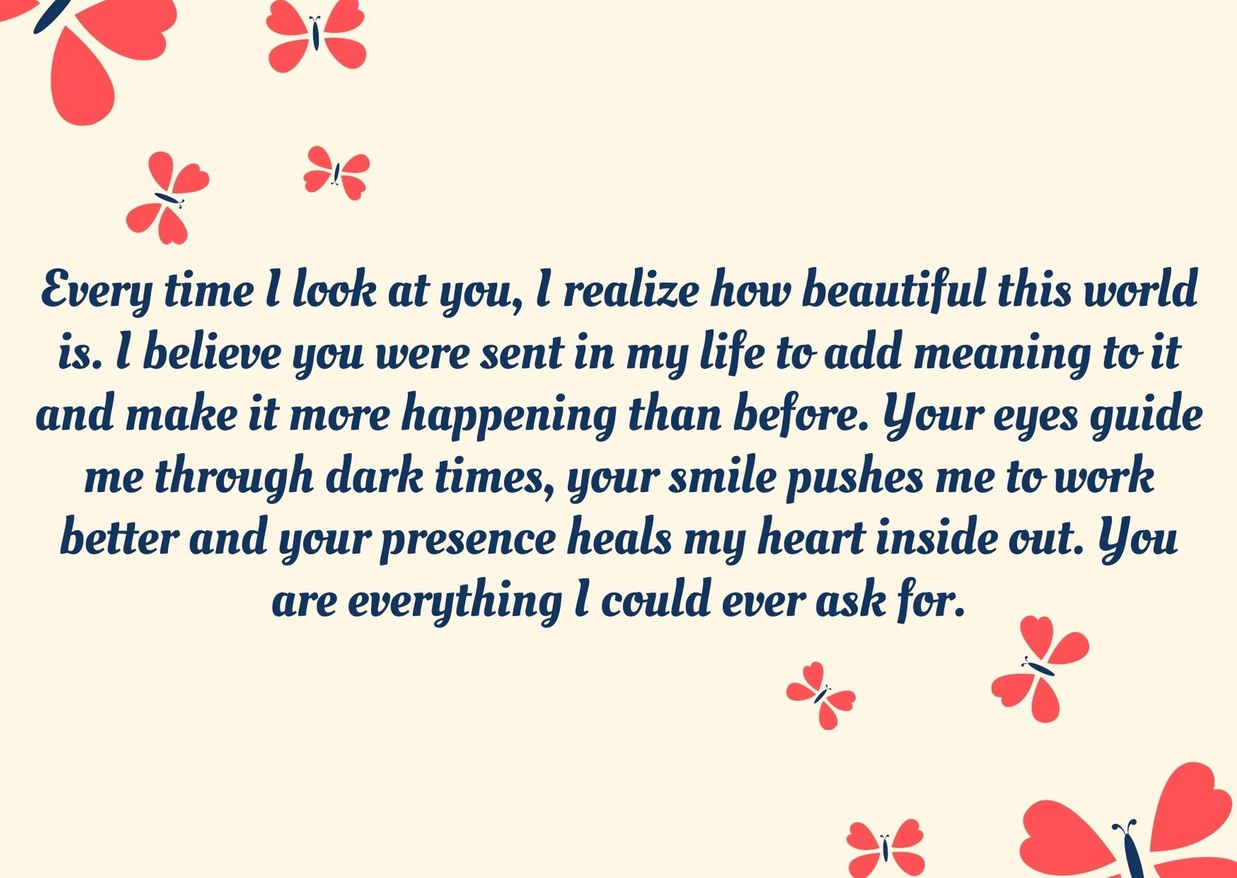 Sweet Paragraph For Your Girlfriend to Make Her Cry