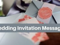 Wedding Invitation Messages