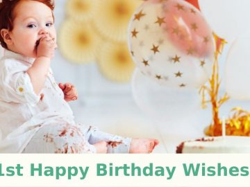 1st Happy Birthday Wishes
